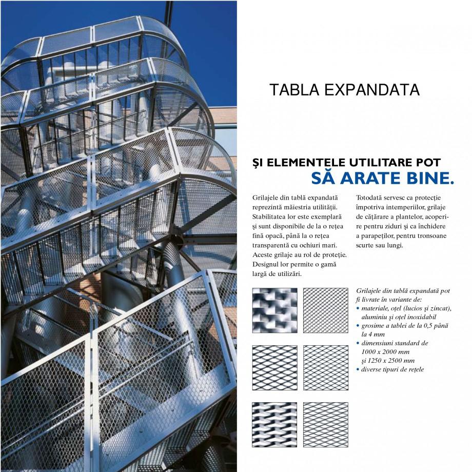 Pagina 3 - Tabla perforata STANTOBANAT Matrix 5-35, EVH 8-50, Lilie 90-28, Nr.154, Arabica 20-24,...