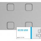 Tabla amprentata SC20 U50 - Tabla amprentata