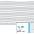 Perforatie rotunda R1.5 T3 - Perforatii rotunde intre 1 si 4 mm