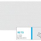 Perforatie rotunda R2 T3 - Perforatii rotunde intre 1 si 4 mm