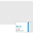 Perforatie rotunda R3 T4 - Perforatii rotunde intre 1 si 4 mm