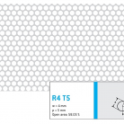 Perforatie rotunda R4 T5 - Perforatii rotunde intre 1 si 4 mm