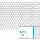 Perforatie rotunda R4 T6 - Perforatii rotunde intre 1 si 4 mm