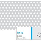 Perforatie rotunda R4 T8 - Perforatii rotunde intre 1 si 4 mm