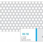 Perforatie rotunda R5 T8 - Perforatii rotunde intre 5 si 10 mm