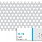 Perforatie rotunda R5 T9 - Perforatii rotunde intre 5 si 10 mm