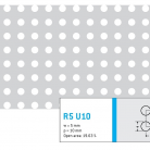 Perforatie rotunda R5 U10 - Perforatii rotunde intre 5 si 10 mm