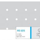 Perforatie rotunda R5 U25 - Perforatii rotunde intre 5 si 10 mm