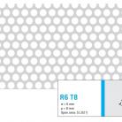 Perforatie rotunda R6 T8 - Perforatii rotunde intre 5 si 10 mm
