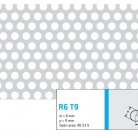 Perforatie rotunda R6 T9 - Perforatii rotunde intre 5 si 10 mm
