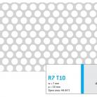 Perforatie rotunda R7 T10 - Perforatii rotunde intre 5 si 10 mm