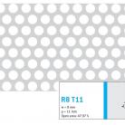 Perforatie rotunda R8 T11 - Perforatii rotunde intre 5 si 10 mm