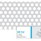 Perforatie rotunda R8 T12 - Perforatii rotunde intre 5 si 10 mm