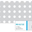 Perforatie rotunda R8 U17.32 - Perforatii rotunde intre 5 si 10 mm