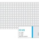 Perforatie patrata C3 U5 - Perforatii patrate intre 3 si 10 mm