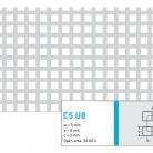Perforatie patrata C5 U8 - Perforatii patrate intre 3 si 10 mm
