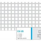 Perforatie patrata C6 U9 - Perforatii patrate intre 3 si 10 mm