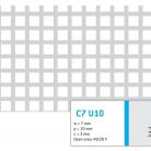 Perforatie patrata C7 U10 - Perforatii patrate intre 3 si 10 mm