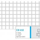 Perforatie patrata C8 U10 - Perforatii patrate intre 3 si 10 mm