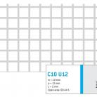 Perforatie patrata C10 U12 - Perforatii patrate intre 3 si 10 mm