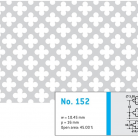 Perforatie decorativa 152 - Perforatii decorative
