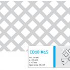 Perforatie decorativa CD10 M15 - Perforatii decorative