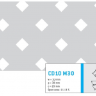 Perforatie decorativa CD10 M30 - Perforatii decorative