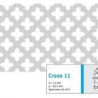 Perforatie decorativa Cross 11 - Perforatii decorative
