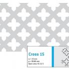 Perforatie decorativa Cross 15 - Perforatii decorative