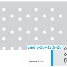 Perforatie decorativa Euro 5-15-12.5-25 - Perforatii decorative