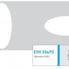 Perforatie decorativa EVH 30x70 - Perforatii decorative