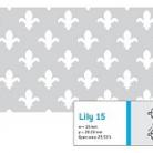 Perforatie decorativa Lily 15 - Perforatii decorative