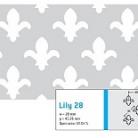 Perforatie decorativa Lily 28 - Perforatii decorative