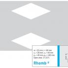 Perforatie decorativa Rhomb2 - Perforatii decorative