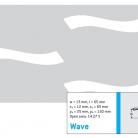 Perforatie decorativa Wave - Perforatii decorative