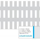 Perforatie alungita LC5x20 U12x30 - Perforatii alungite