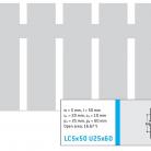 Perforatie alungita LC5x20 U25x60 - Perforatii alungite