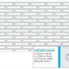 Perforatie alungita LR2x20 Z5x24 - Perforatii alungite