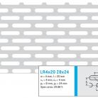 Perforatie alungita LR4x20 Z8x24 - Perforatii alungite
