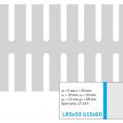Perforatie alungita LR5x50 U15x60 - Perforatii alungite