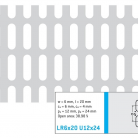 Perforatie alungita LR6x20 U12x24 - Perforatii alungite