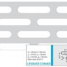 Perforatie alungita LR10x50 Z19x60 - Perforatii alungite