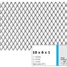 Tabla expandata 10 x 6 x 1 - Grilaje din tabla expandata - romb
