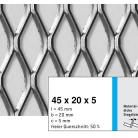 Tabla expandata 45  x 20  x 5 - Grilaje din tabla expandata - romb