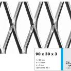 Tabla expandata 90 x 30 x 3 - Grilaje din tabla expandata - romb