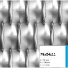Tabla expandata 76x24x11 - Grilaje din tabla expandata - decorativa