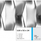 Tabla expandata 110x52x24 - Grilaje din tabla expandata - decorativa