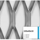 Tabla expandata 150x40x10 - Grilaje din tabla expandata - decorativa