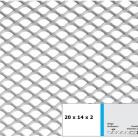 Tabla expandata 20x14x2 - Grilaje din tabla expandata - hexagonal/rotund