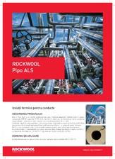 Izolatii termice pentru conducte ROCKWOOL